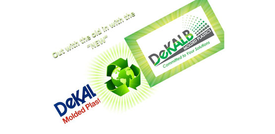 Dekalb Logo - Old to New